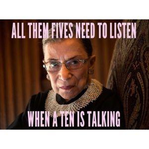 💕Ruth Bader Ginsburg Justice Collar Crochet RBG💕